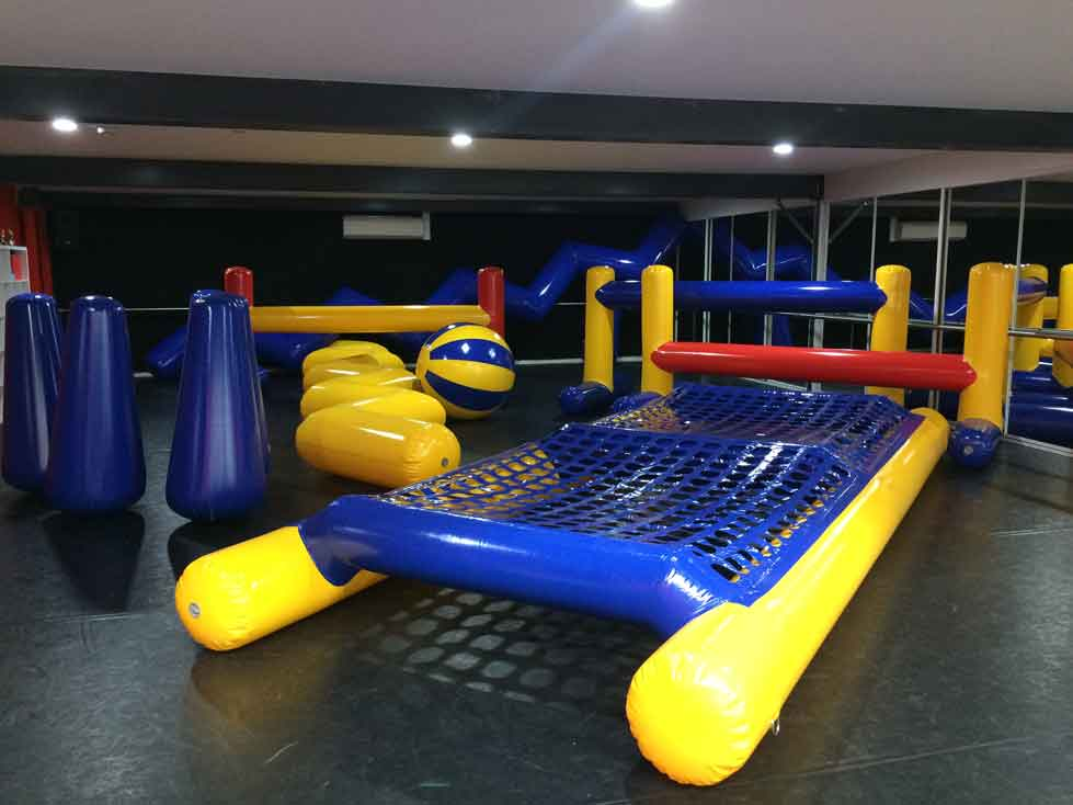 Some of our inflatable obstacles