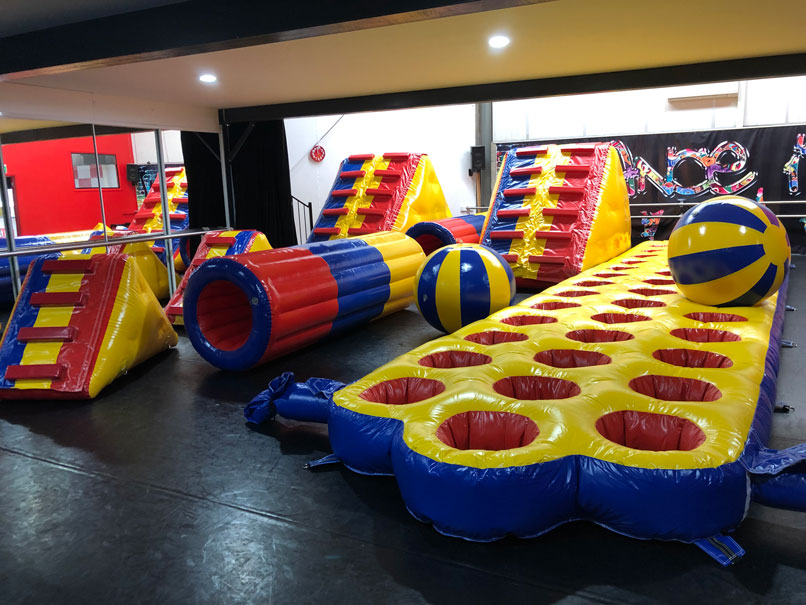 Our brand new obstacles